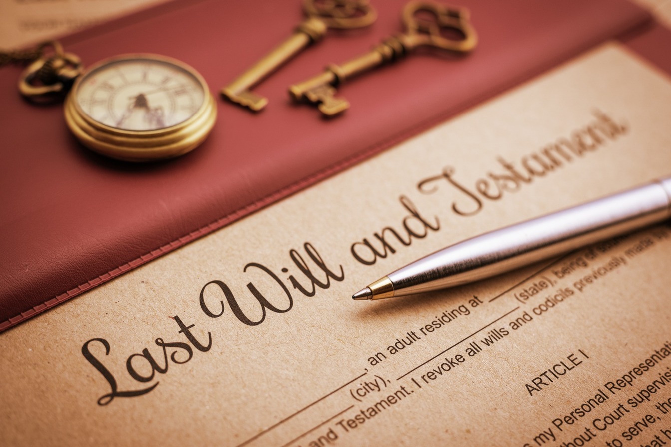 A Last Will and Testament template