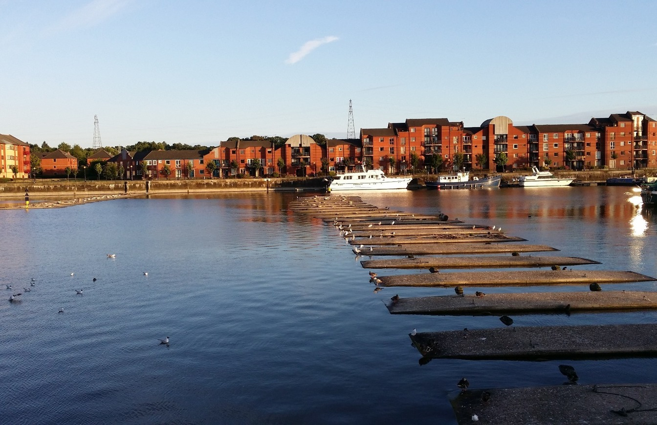 A view of Preston Docklands