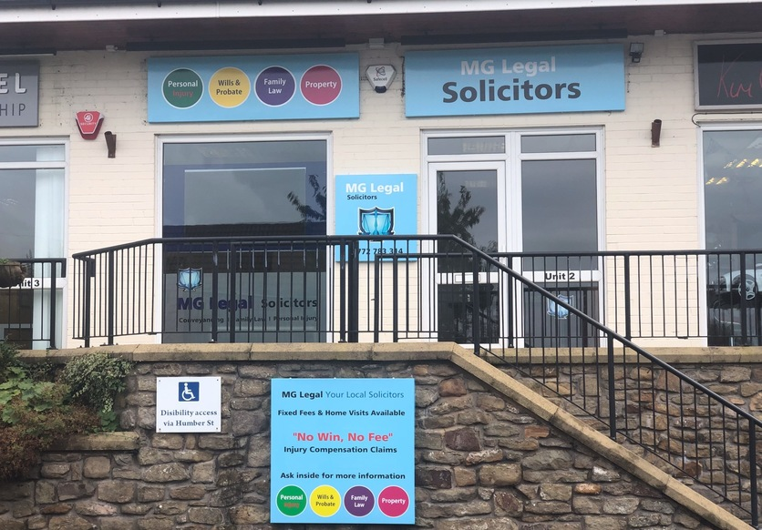 MG Legal's Longridge office.