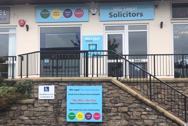 MG Legal's Solicitors in Longridge's Office.