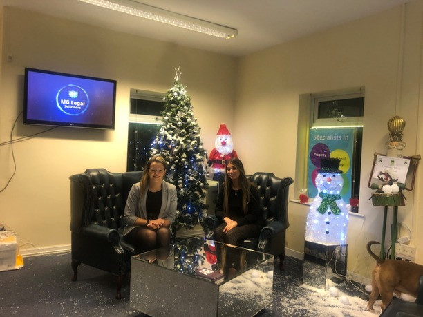 Chloe Cardwell and Sarah Lees in our Garstang office.