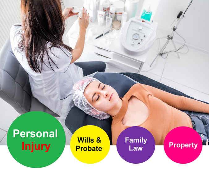Fibro Blast negligence Personal injury claims solicitors