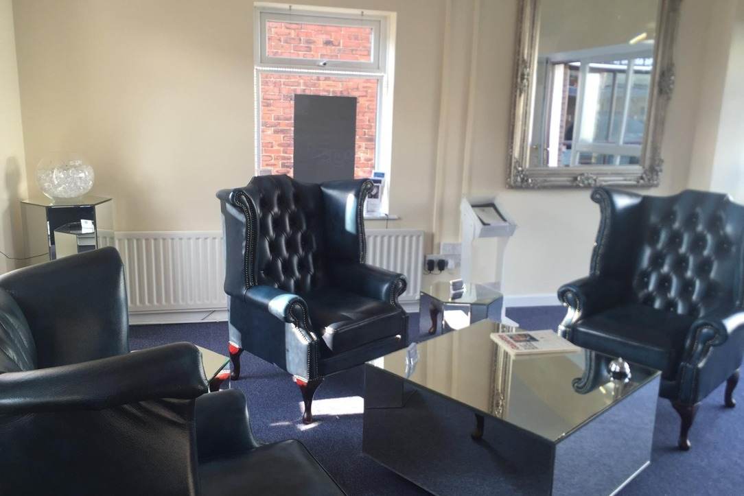 The downstairs of our Garstang office.