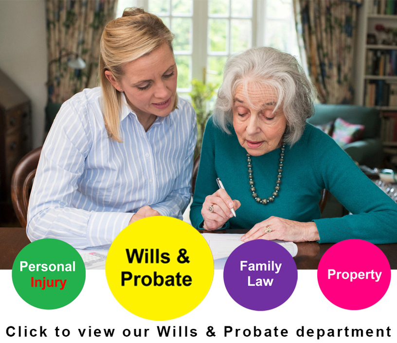 Click to view our Wills & Probate department