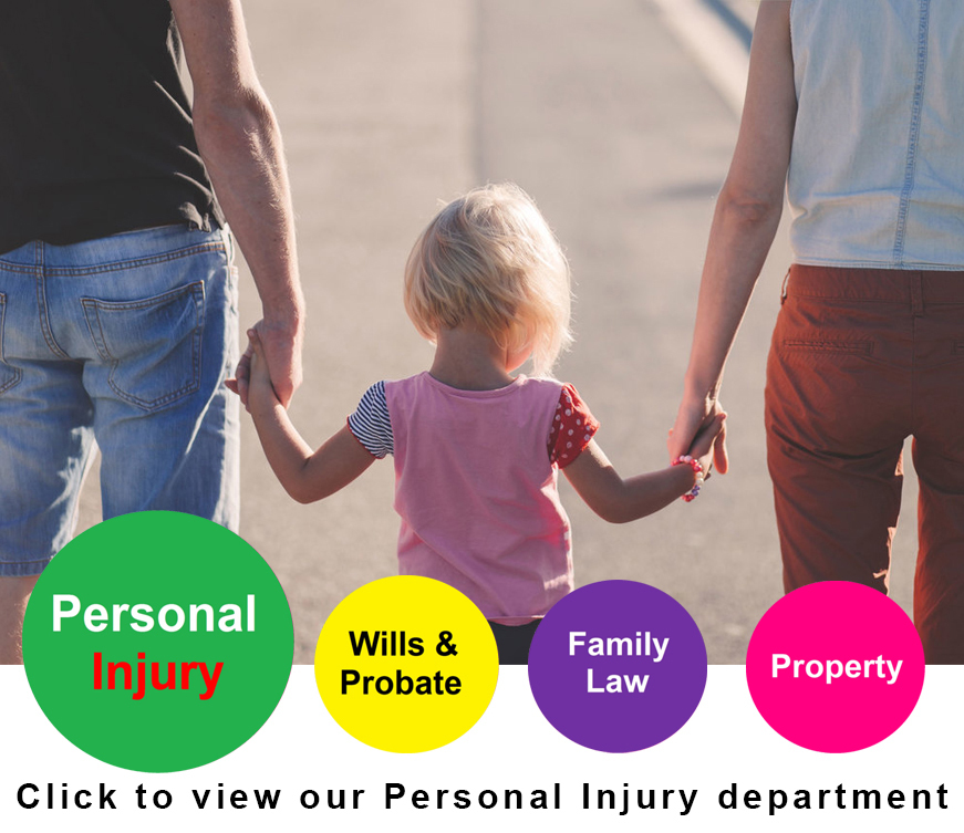 Click to view our Personal Injury department